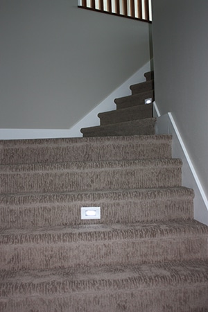 residential electrical stair lights