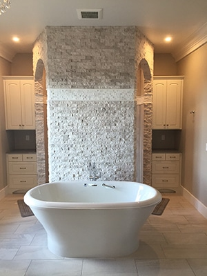 residential plumbing bathroom