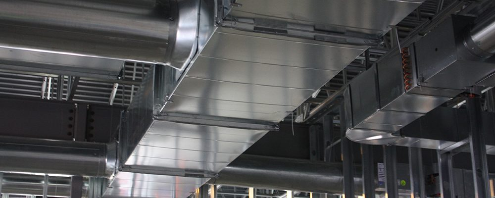 Sheet metal, Duct work