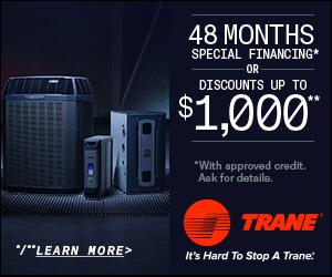 Trane Fall Promotion