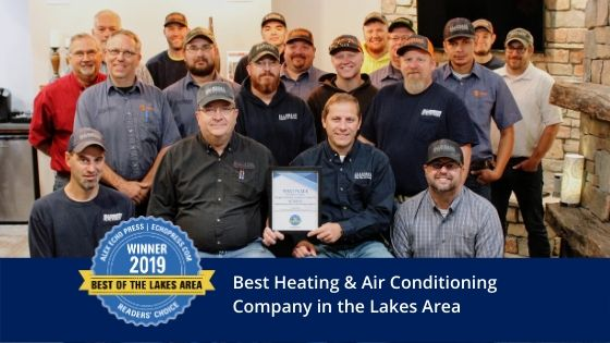 best heating and air conditioning company employees