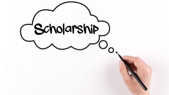 scholarship on white paper