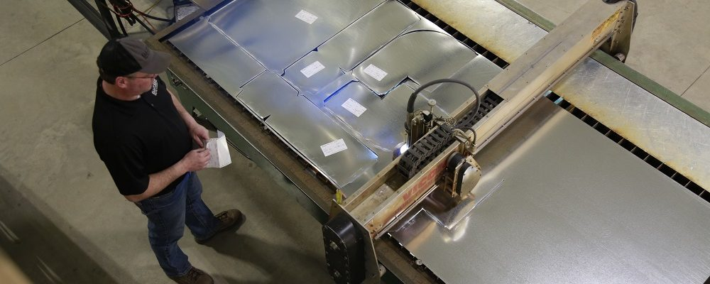 Sheet Metal Plasma Table